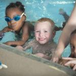 Swim lesson children