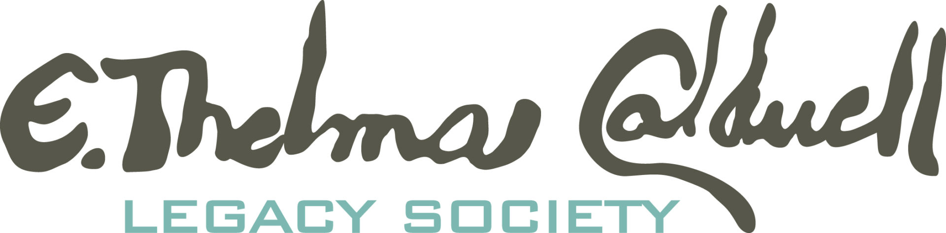 E. Thelma Caldwell Legacy Society for planned giving